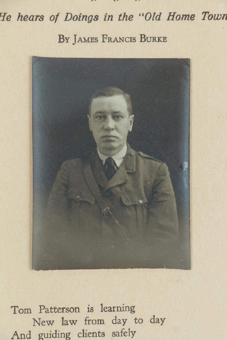 Sewickley World War One Historical Poem - 4