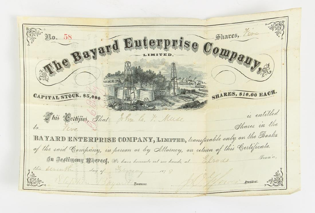 Eighteen Pittsburgh Related 19th Century Invoices - 4