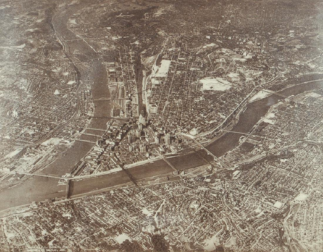 Aerial Photograph of Downtown Pittsburgh