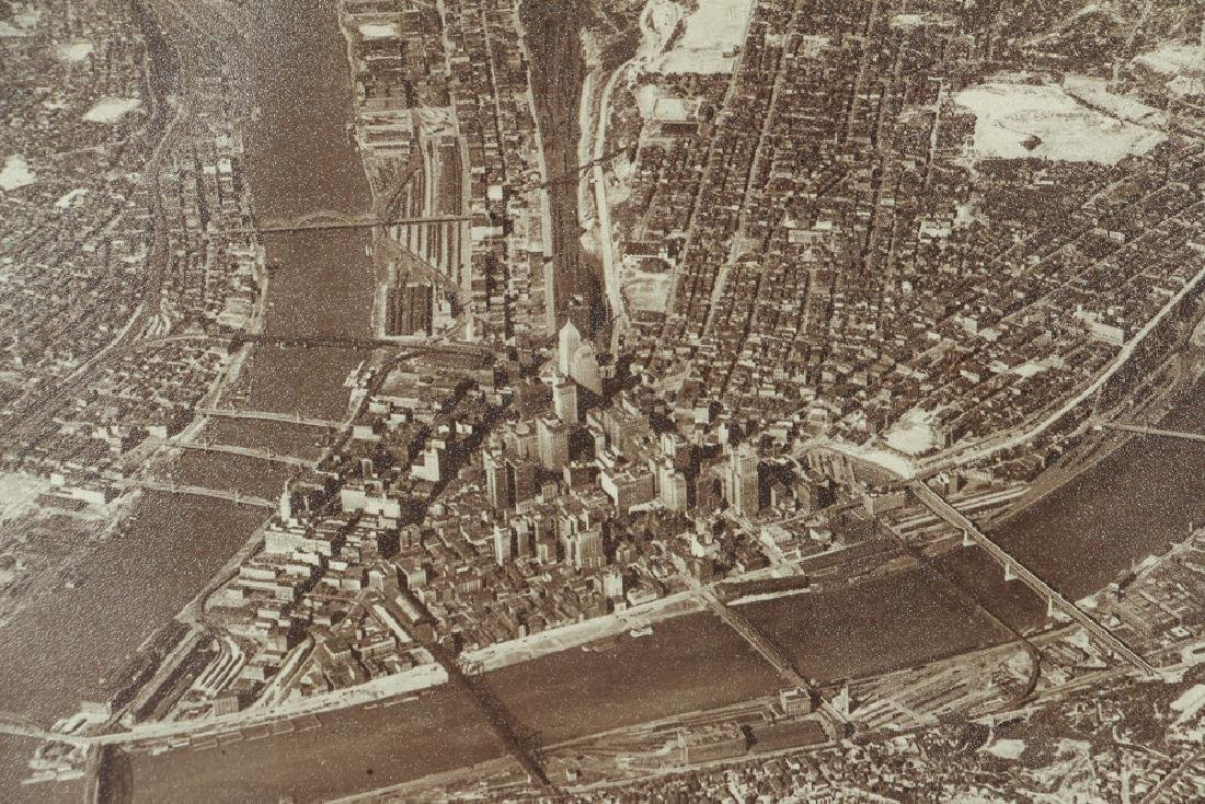 Aerial Photograph of Downtown Pittsburgh - 5