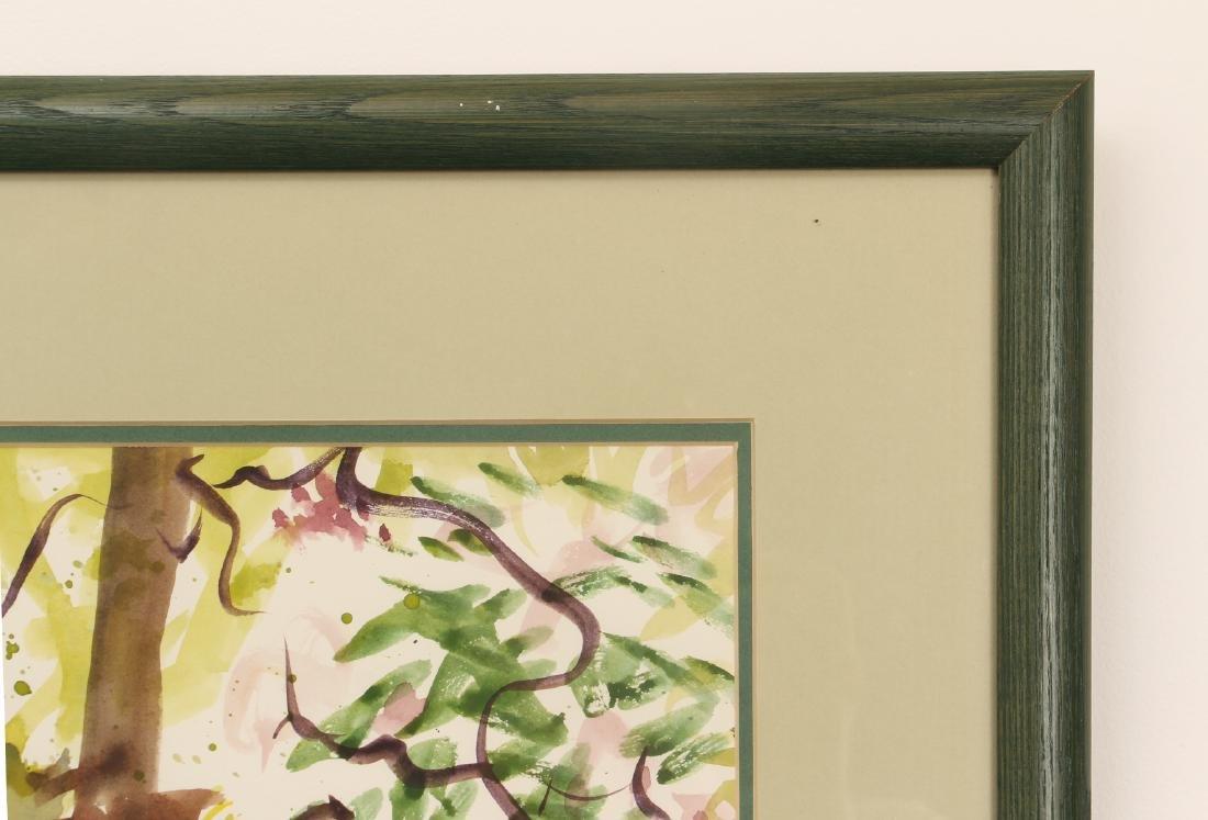 Ellen Carrol expressionist landscape watercolor - 5