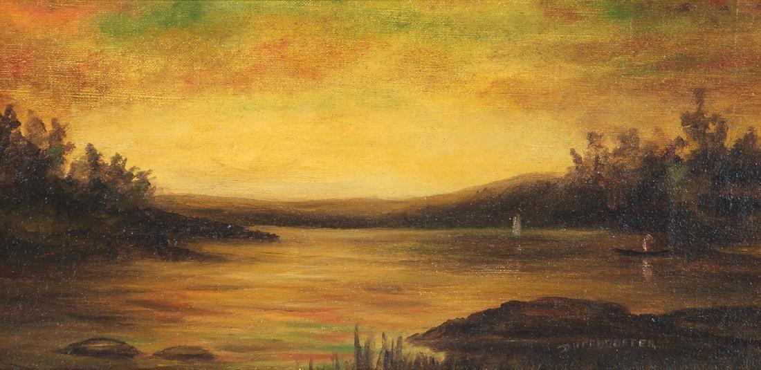 Diffendorfer painting Lake Landscape