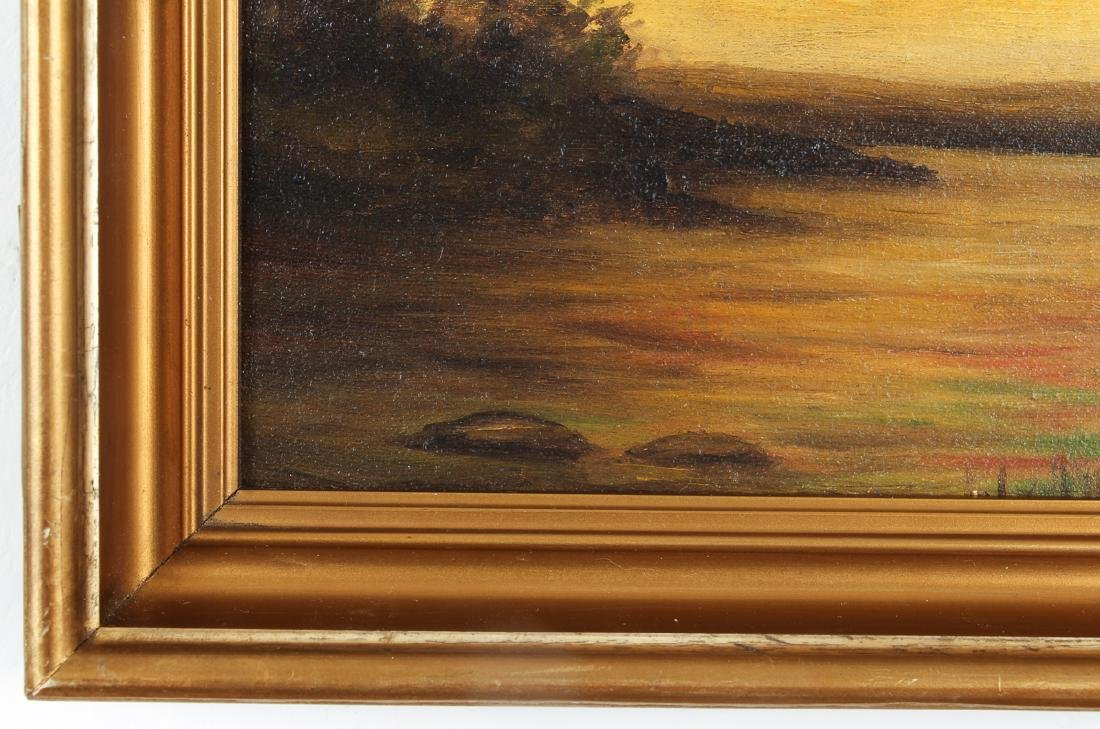 Diffendorfer painting Lake Landscape - 6