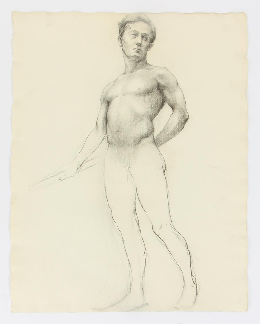 5 Margaret J. Ferguson Nude Figure Studies, 1920's - 2
