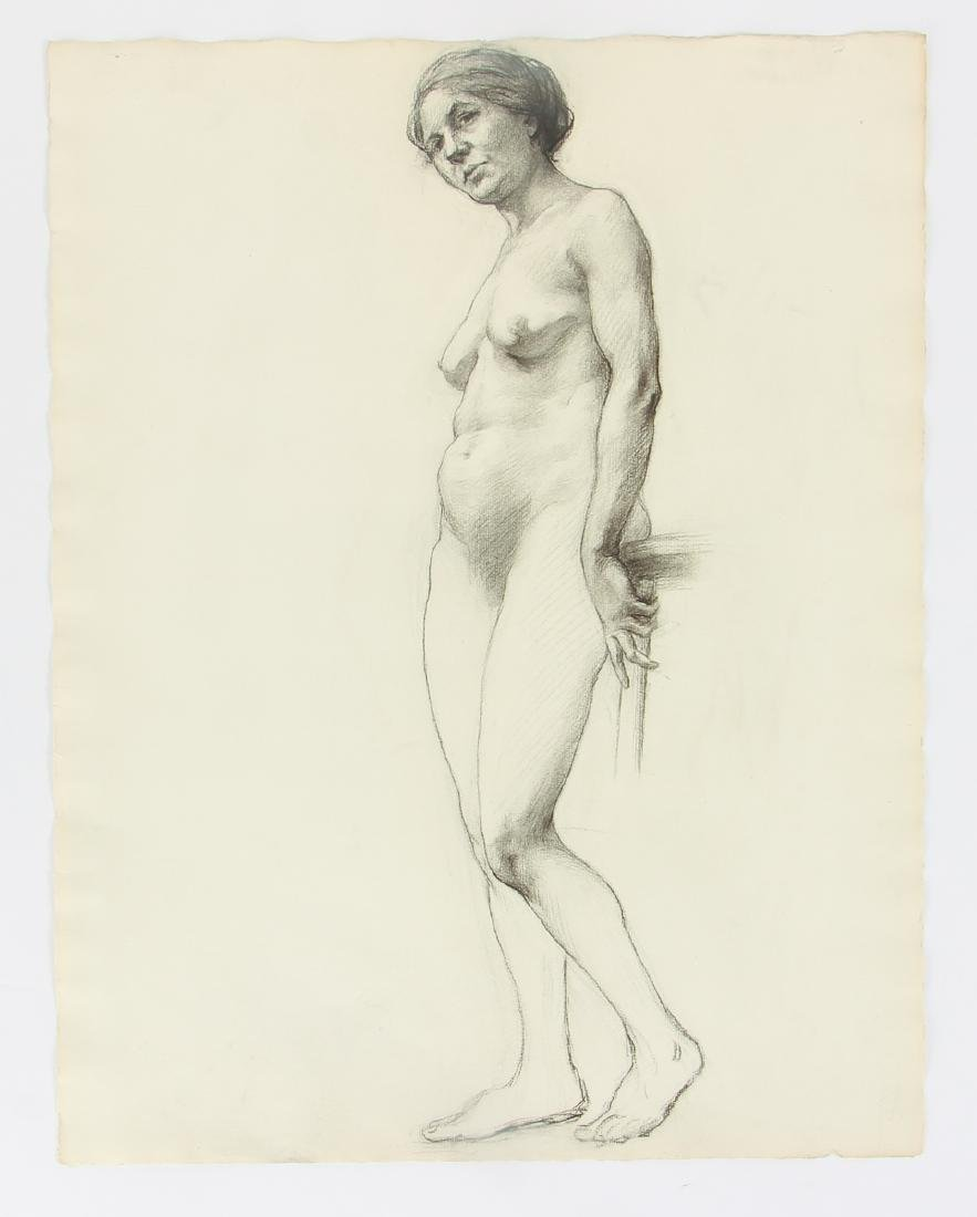 5 Margaret J. Ferguson Nude Figure Studies, 1920's - 4
