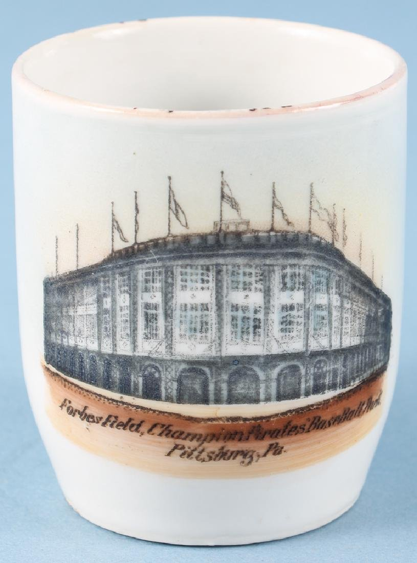 Forbes Field 1909 German Ceramic Shaving Mug