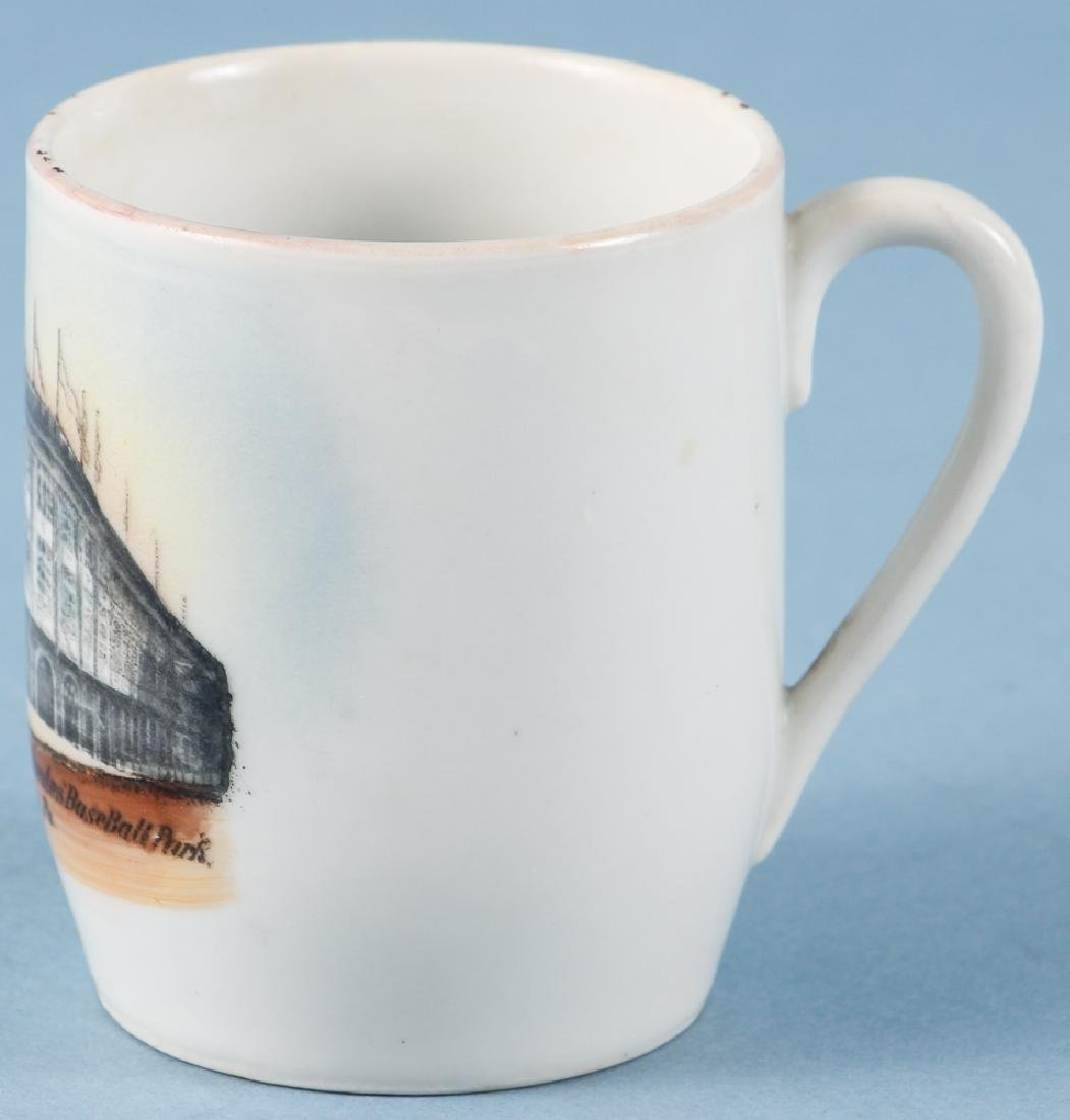 Forbes Field 1909 German Ceramic Shaving Mug - 2