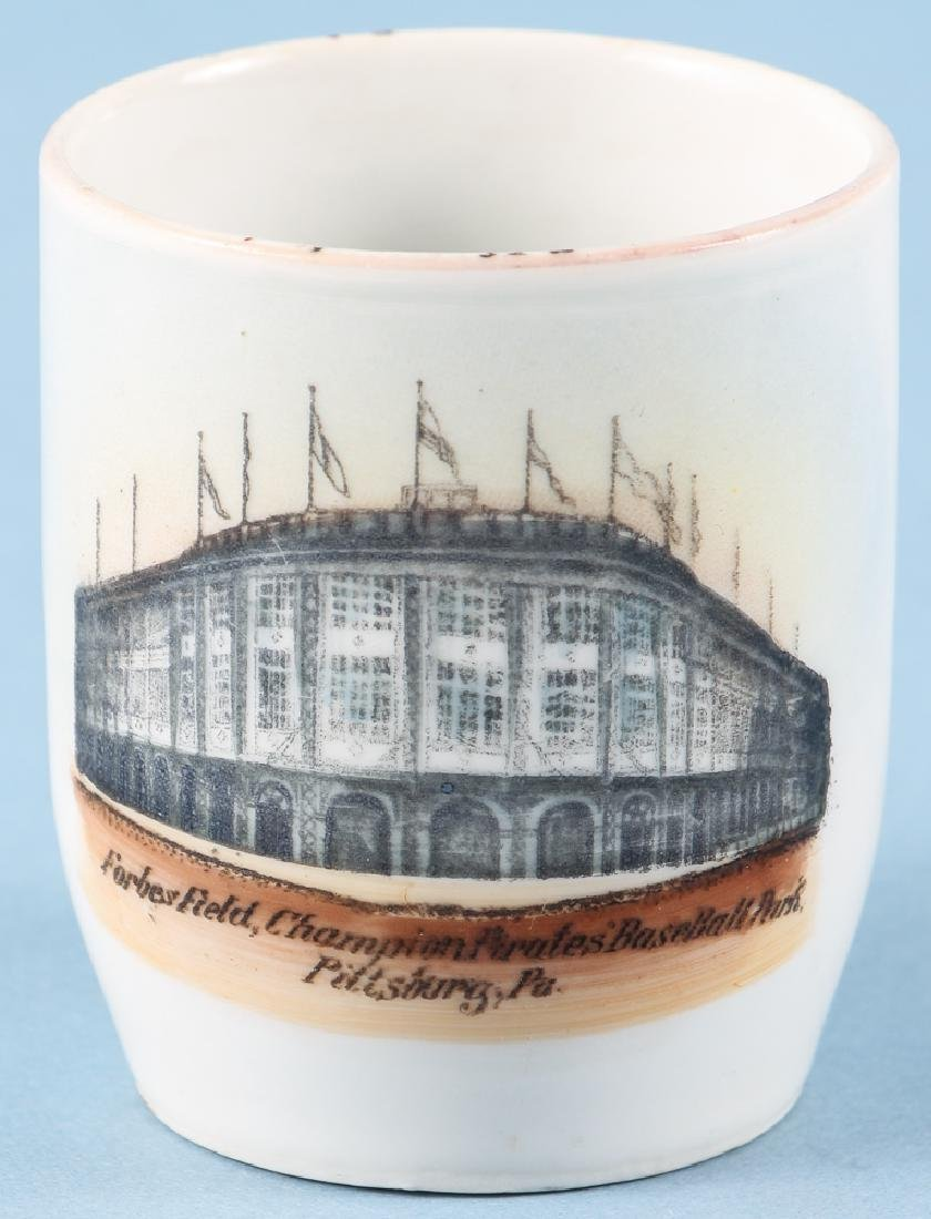 Forbes Field 1909 German Ceramic Shaving Mug - 4