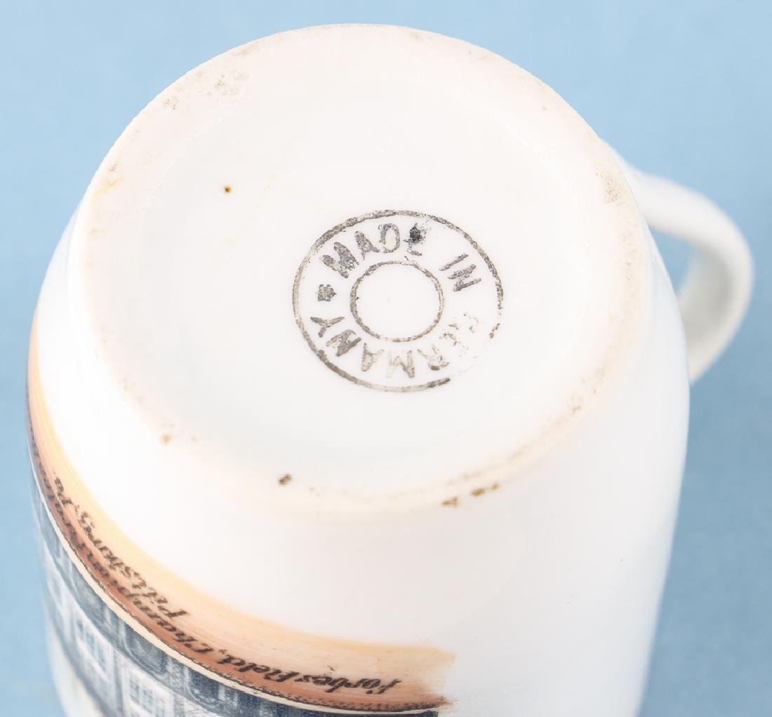 Forbes Field 1909 German Ceramic Shaving Mug - 6