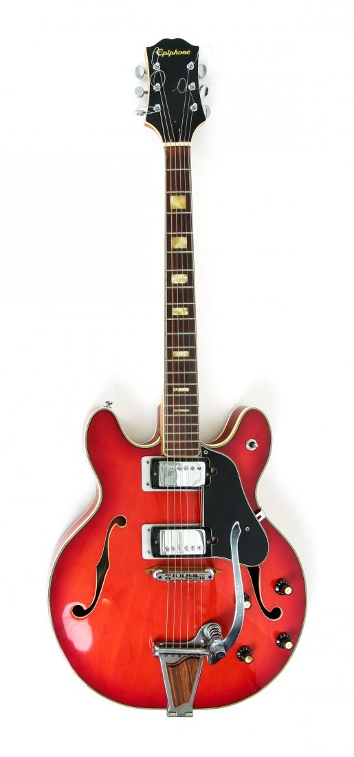 Vintage Epiphone Hollow Body Electric Guitar