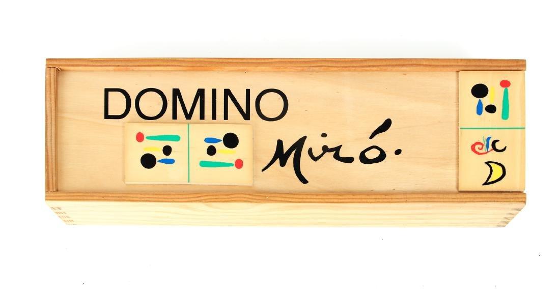 Joan Miro Parleur Seul Domino Set - 2