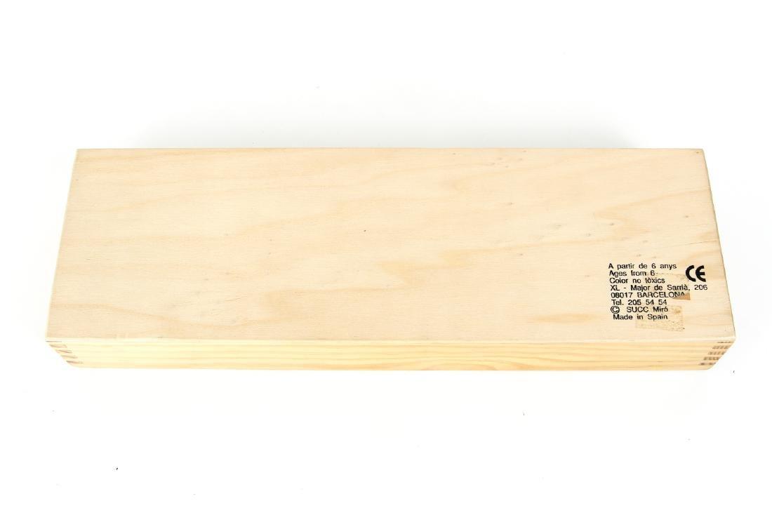 Joan Miro Parleur Seul Domino Set - 3