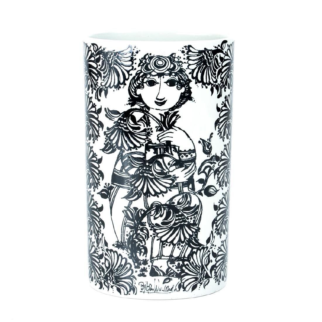 Bjorn Wiinblad Nymolle Petunia Vase