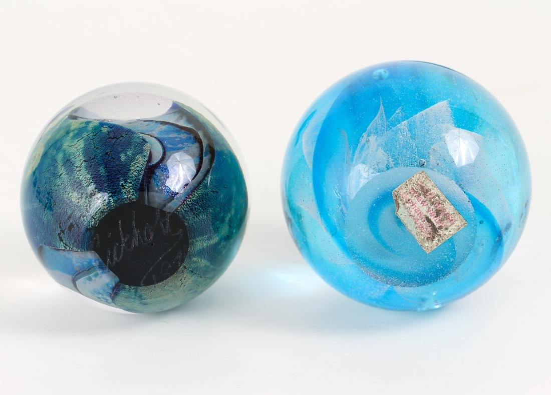 Group of Contemporary Art Glass Paperweights - 5
