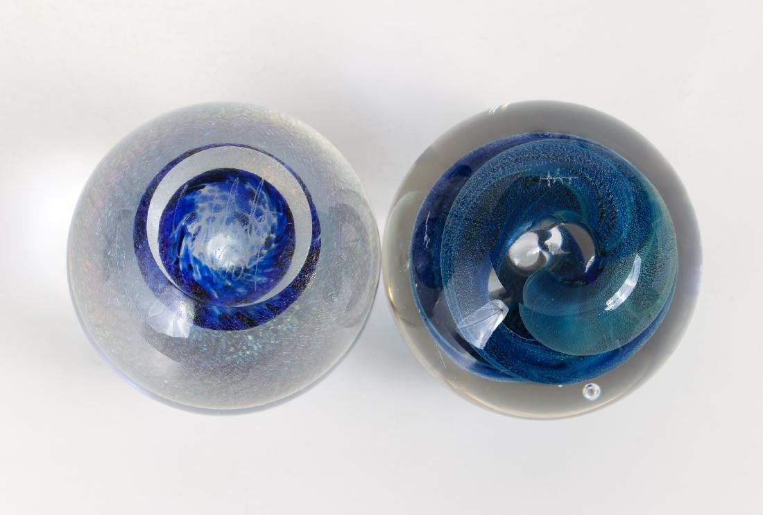 Group of Contemporary Art Glass Paperweights - 7