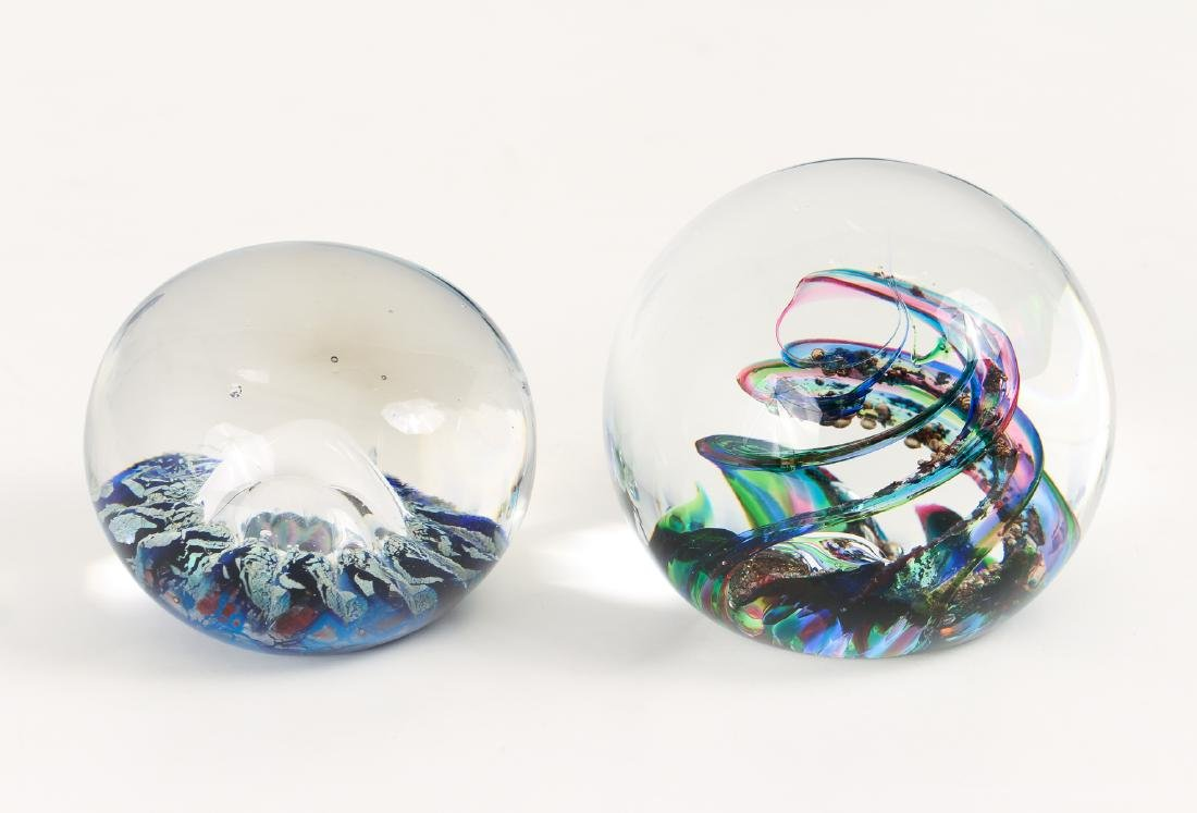 Group of Contemporary Art Glass Paperweights - 8