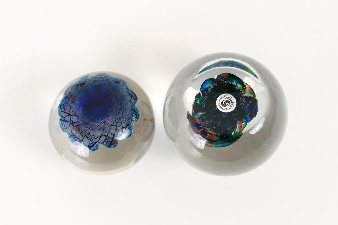 Group of Contemporary Art Glass Paperweights - 9