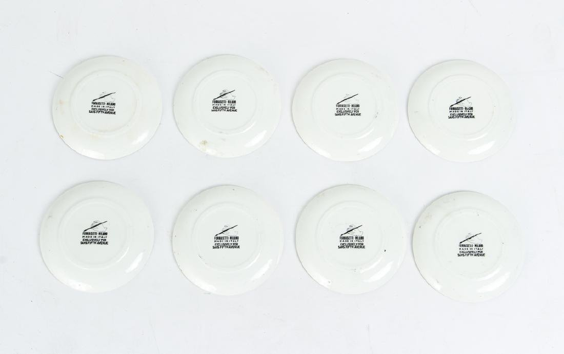 Eight Matching Fornasetti Chariot Themed Plates - 2
