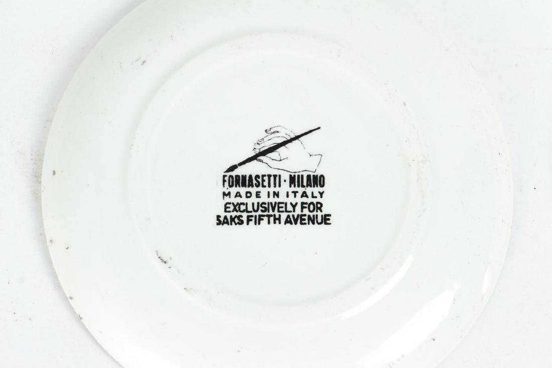 Eight Matching Fornasetti Chariot Themed Plates - 3