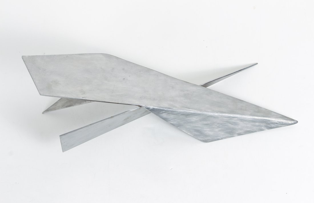 20th Century American Stainless Steel Sculpture - 7