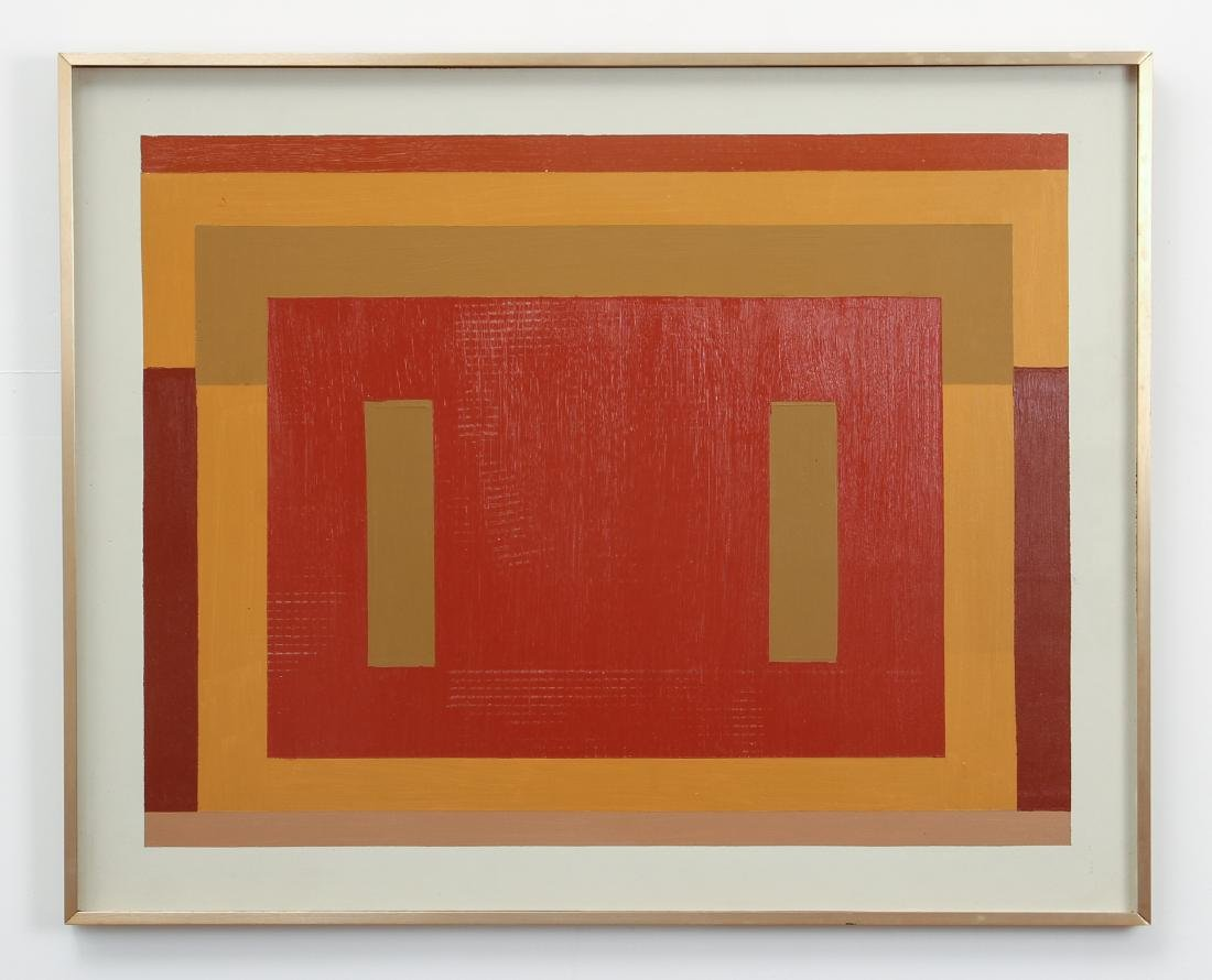 Geometric Abstraction in the style of Josef Albers - 2