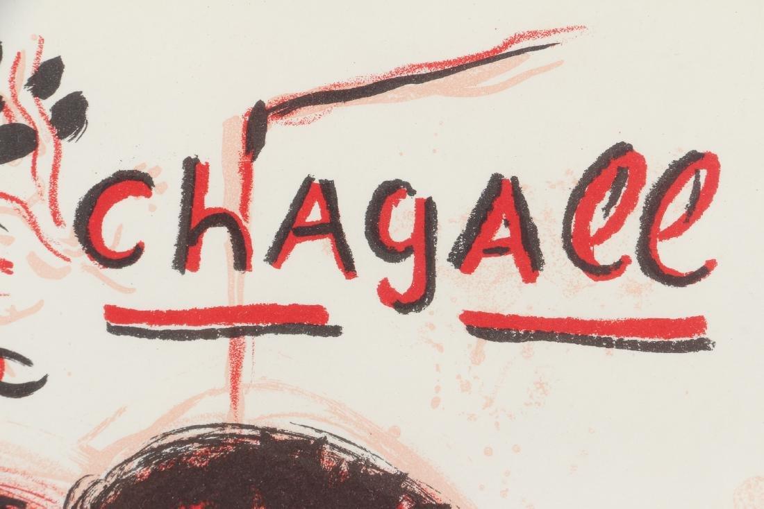 CHAGALL, MOURLOT, PORTFOLIO COVER, for LITHOGRAPH III - 3