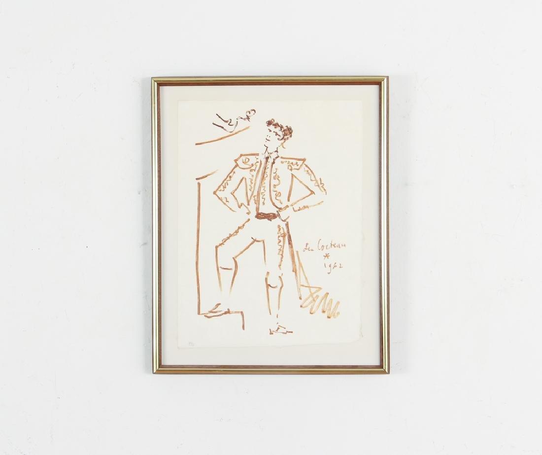Jean Cocteau lithograph of a Toreador - 2