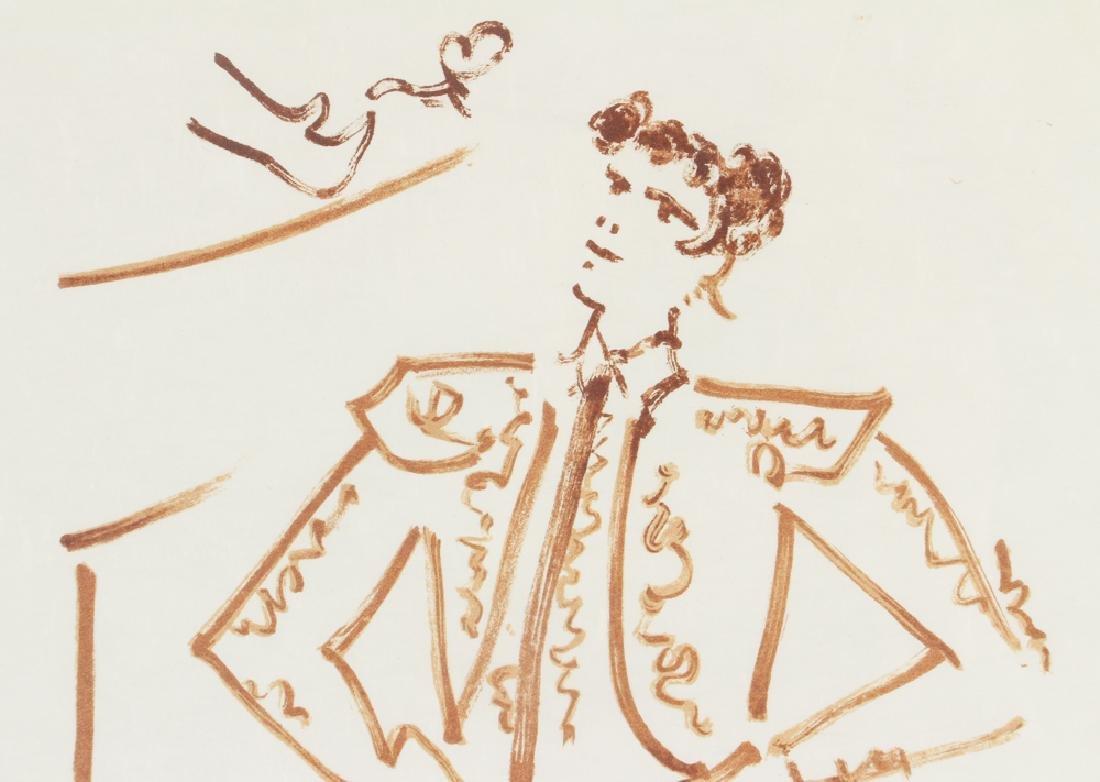 Jean Cocteau lithograph of a Toreador - 5