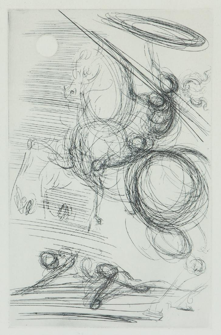 Two Salvador Dali Etching