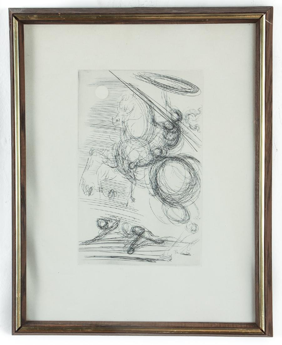 Two Salvador Dali Etching - 2
