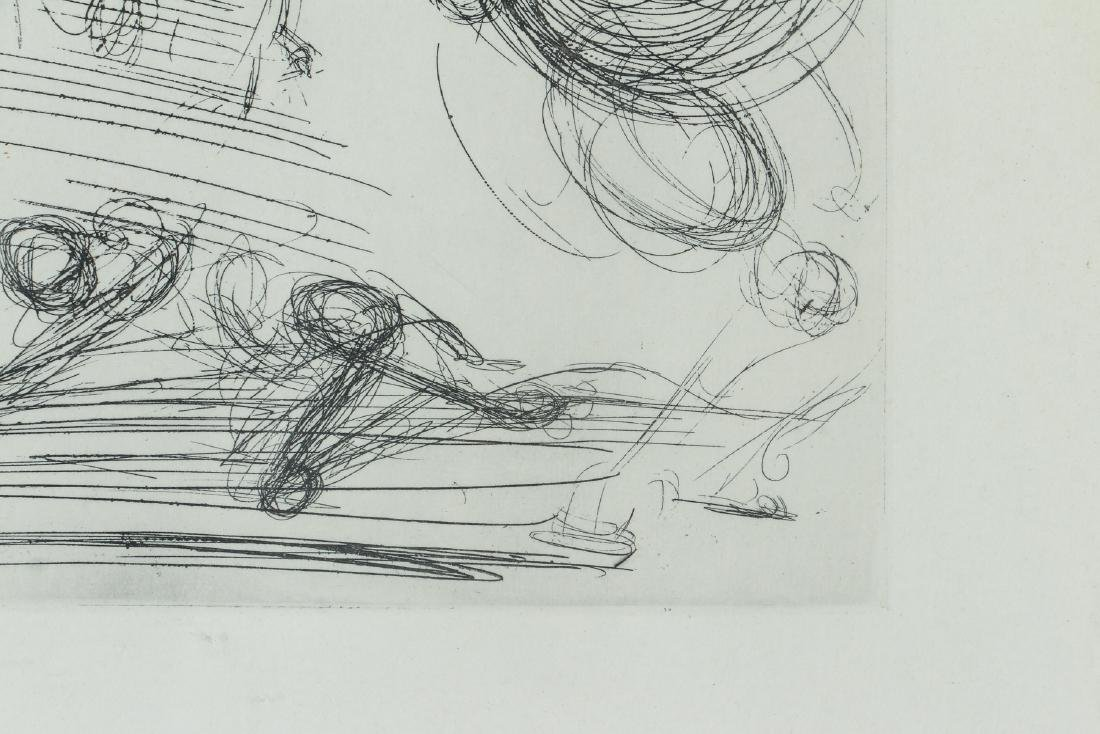 Two Salvador Dali Etching - 3
