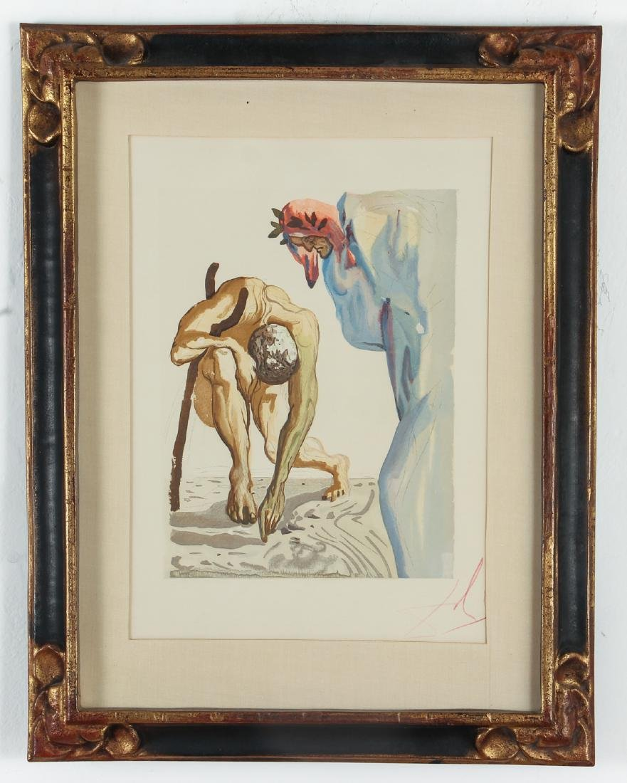 Two Salvador Dali Etching - 5