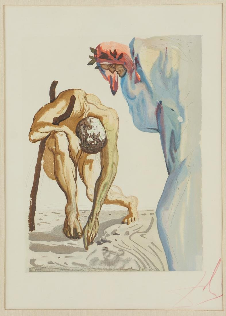 Two Salvador Dali Etching - 6