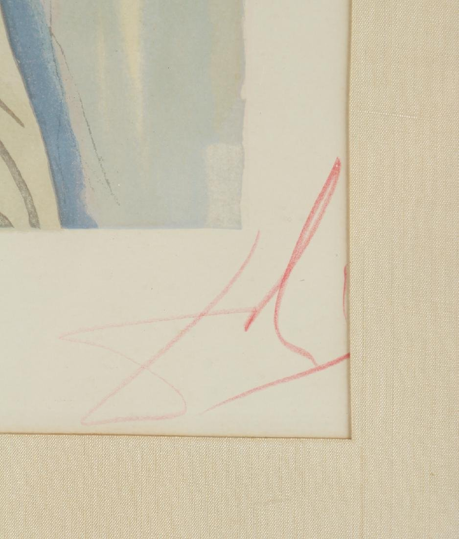 Two Salvador Dali Etching - 7
