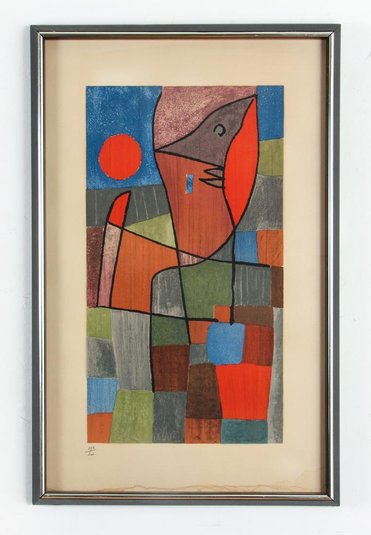 Paul KLEE - Palesio Nua, 1933 printed in 1961 - 2