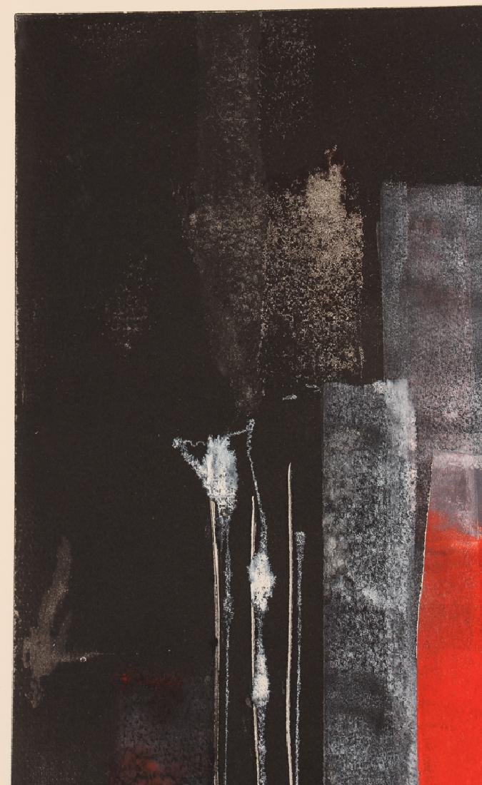 Pauline Michaels monoprint Red rectangle - 7
