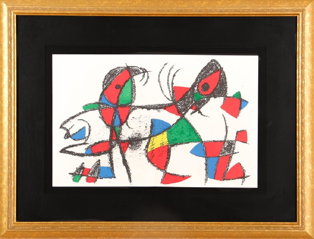 After Joan Miro UNTITLED LITHOGRAPH 1974 - 2