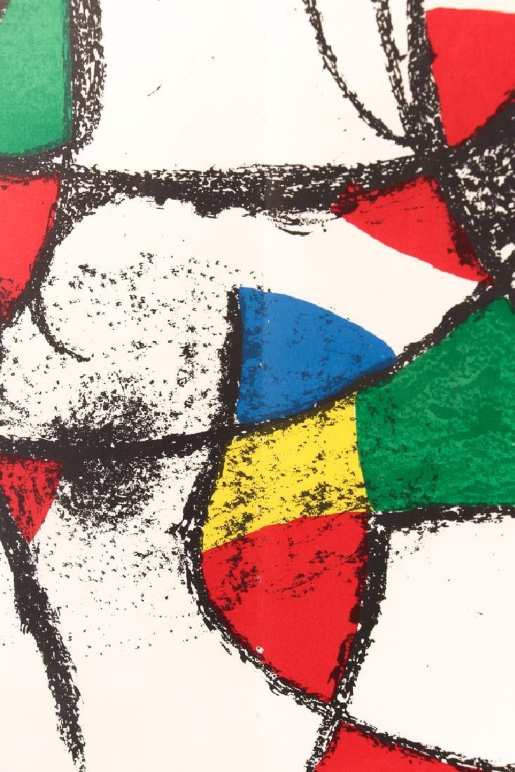 After Joan Miro UNTITLED LITHOGRAPH 1974 - 3