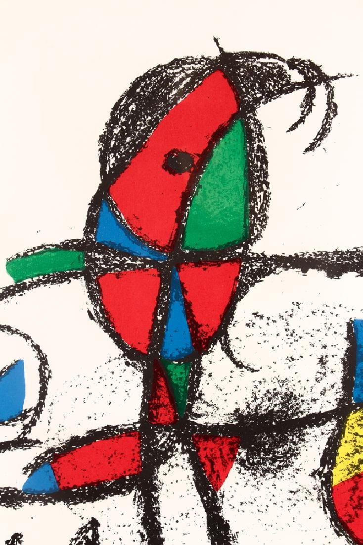 After Joan Miro UNTITLED LITHOGRAPH 1974 - 4