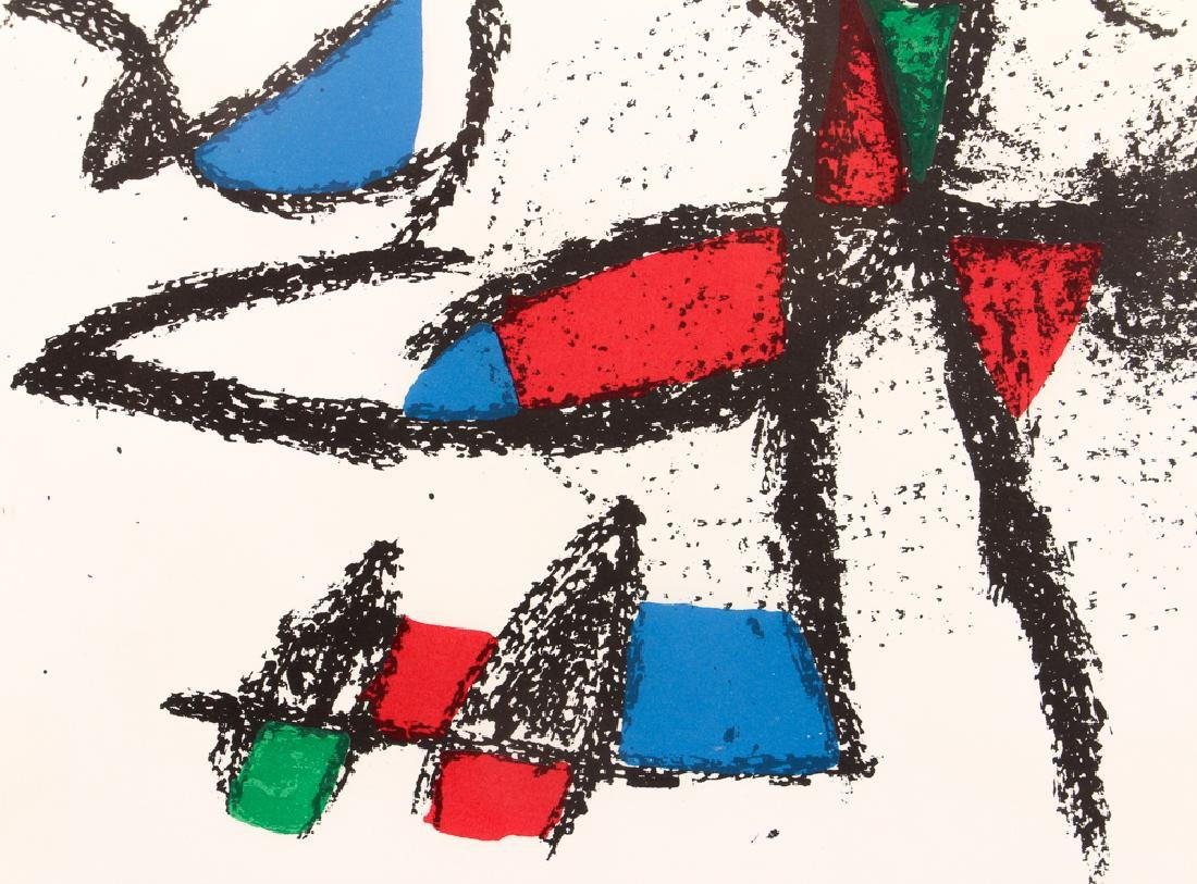 After Joan Miro UNTITLED LITHOGRAPH 1974 - 5