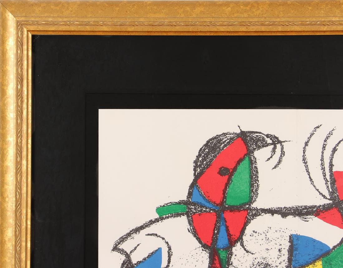 After Joan Miro UNTITLED LITHOGRAPH 1974 - 6