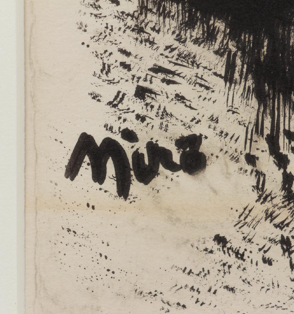 Joan Miro color lithograph - 3