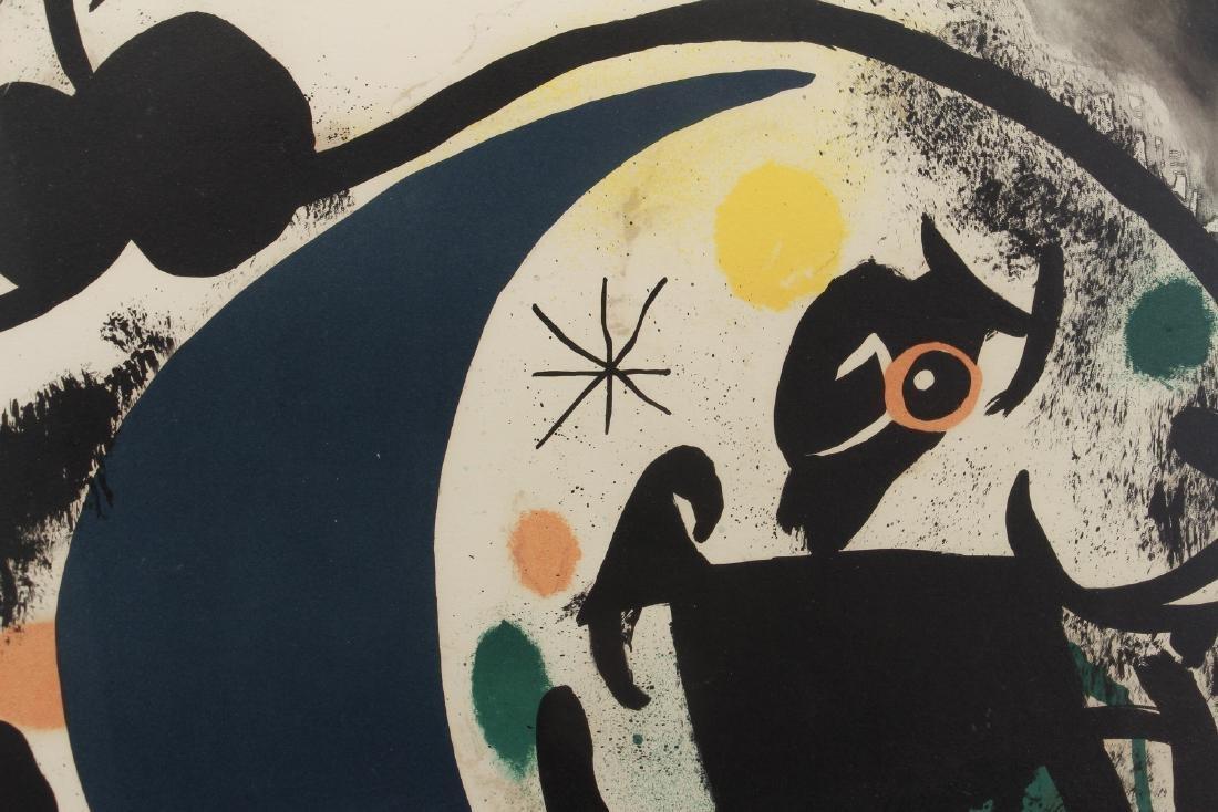 Joan Miro color lithograph - 4