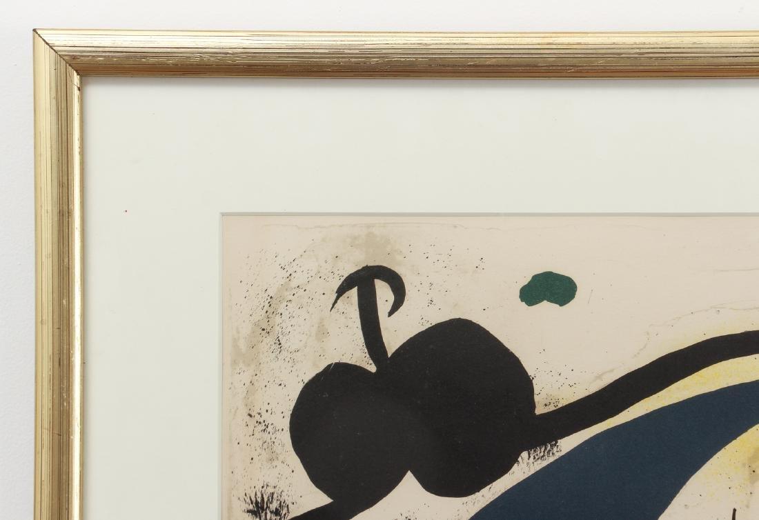 Joan Miro color lithograph - 6