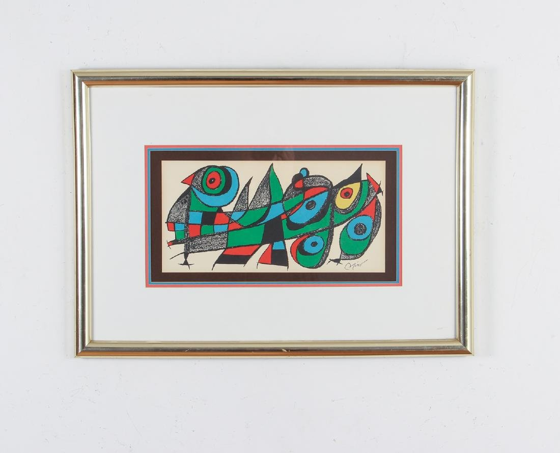 Miro Plate Signed Escultor Series Lithograph - 2