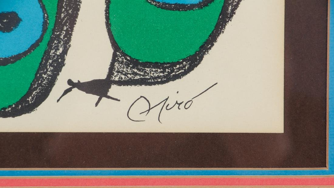 Miro Plate Signed Escultor Series Lithograph - 3