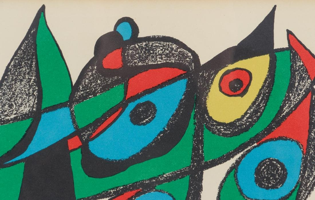 Miro Plate Signed Escultor Series Lithograph - 4
