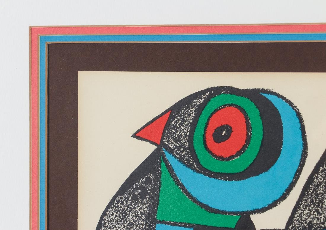 Miro Plate Signed Escultor Series Lithograph - 5