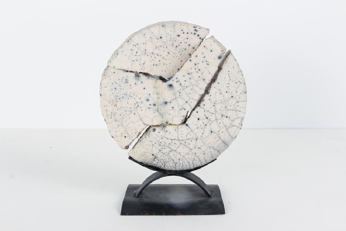 Morantes Broken Disc sculpture