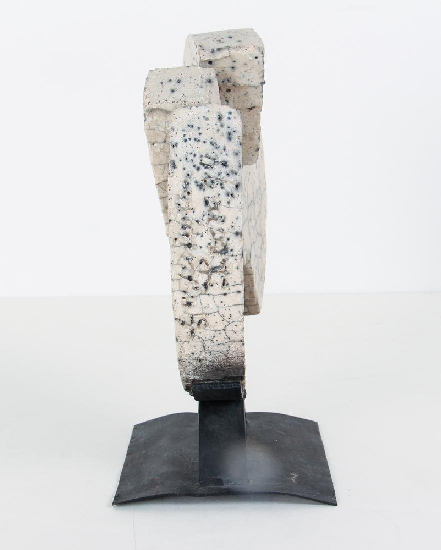 Morantes Broken Disc sculpture - 2